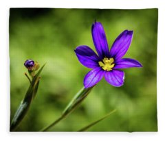 Spring Blooms Fleece Blanket