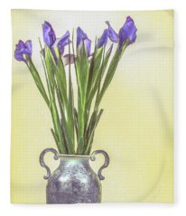 Spring Bouquet Fleece Blanket