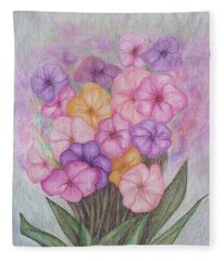 Spring Bouquet  Fleece Blanket