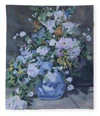 Spring Bouquet Part 2 Fleece Blanket