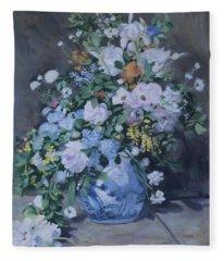 Spring Bouquet Part 3 Fleece Blanket
