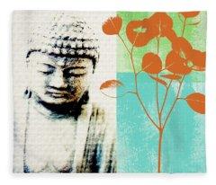 Buddhism Fleece Blankets