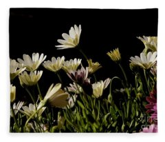 Spring Daisies Fleece Blanket