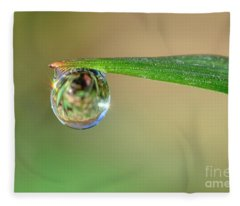 Spring Dew Fleece Blanket