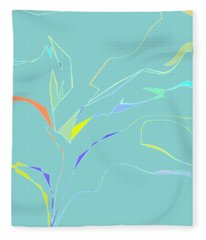 Spring Fling Fleece Blanket