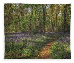 Spring In Haywood No 5 Fleece Blanket