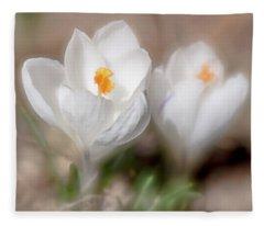 Spring Is Here Fleece Blanket