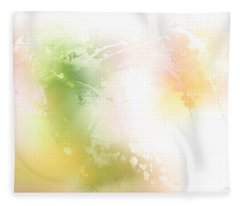 Spring Iv Fleece Blanket