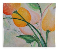 Spring Light Fleece Blanket