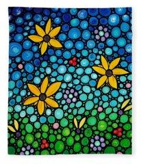 Spring Maidens Fleece Blanket