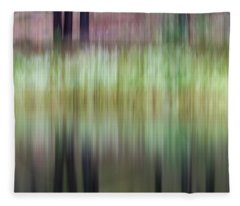 Spring Reflections Fleece Blanket