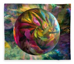 Spring Rhapsody Fleece Blanket