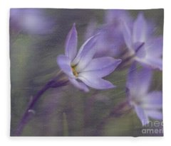 Spring Starflower Fleece Blanket