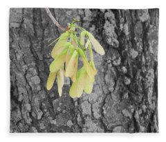 Spring Whirligig Fleece Blanket