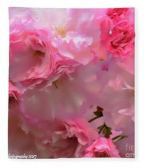 Spring With A Cherry On Top Fleece Blanket