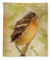 Spring's Sweet Song Fleece Blanket
