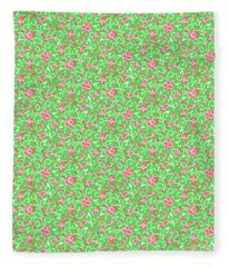Springtime Botanicals-e Fleece Blanket