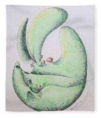 Sprout Fleece Blanket