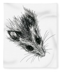 Squeak The Mouse Fleece Blanket