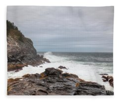 Squeaker Cove Fleece Blanket