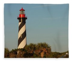 St. Augustine Lighthouse #3 Fleece Blanket