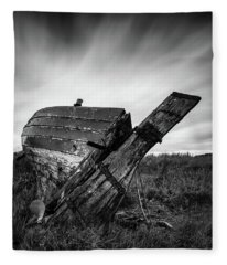 St Cyrus Wreck Fleece Blanket