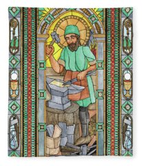 St. Eligius Fleece Blanket