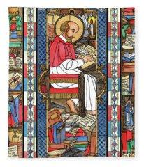 St. Francis De Sales Fleece Blanket