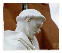 St. Francis Of Asisi Fleece Blanket