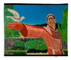 St Francis Winery 2017 Fleece Blanket