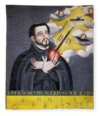 St. Francis Xavier Fleece Blanket
