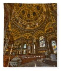 St Josaphat Basilica Milwaukee W I Fleece Blanket