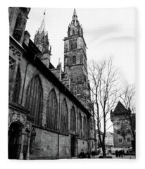 St. Lorenz Cathedral Fleece Blanket