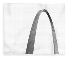 St. Louis Gateway Arch Bnw 9581 Fleece Blanket