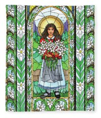 St. Maria Goretti Fleece Blanket