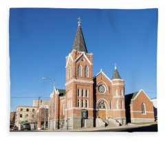 St Mark Lutheran Church Fleece Blanket