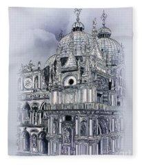 St Mark's Basilica. Fleece Blanket