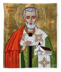St. Martin Of Tours - Jcmto Fleece Blanket
