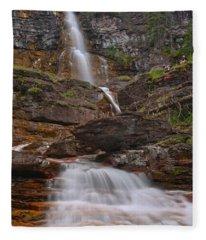 St. Mary Triple Cascades Fleece Blanket