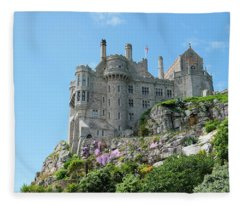 St Michael's Mount Castle Fleece Blanket