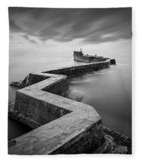St Monans Breakwater Fleece Blanket