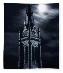 St Nicholas Church Wilkes Barre Pennsylvania Fleece Blanket