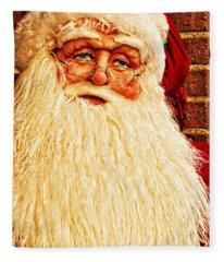 St. Nicholas Melting Canvas Photoart Fleece Blanket