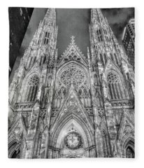 St. Patricks Cathedral  Fleece Blanket