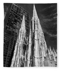 St. Patrick's Cathedral Fleece Blanket