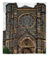 St. Patrick's Church Fleece Blanket