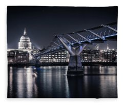 St Pauls Cathedral Fleece Blanket