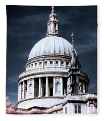 St. Paul's Cathedral's Dome, London Fleece Blanket