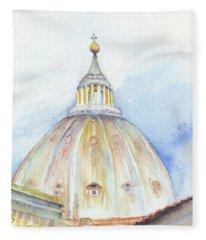 St. Peter's Basilica Fleece Blanket