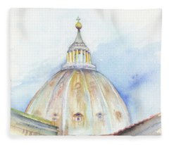 St. Peter's Basilica Fleece Blanket